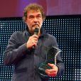 """Olivier Marchal - Clôture des """"Rencontres Internationales du Cinéma"""" et remise des Prix Henri-Langlois à Vincennes le 3 février 2014."""
