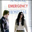Cher et son fils Elijah Blue Allman à Los Angeles, le 14 octobre 2005.