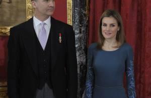 Letizia d'Espagne : Sublime avec la famille royale au grand raout diplomatique