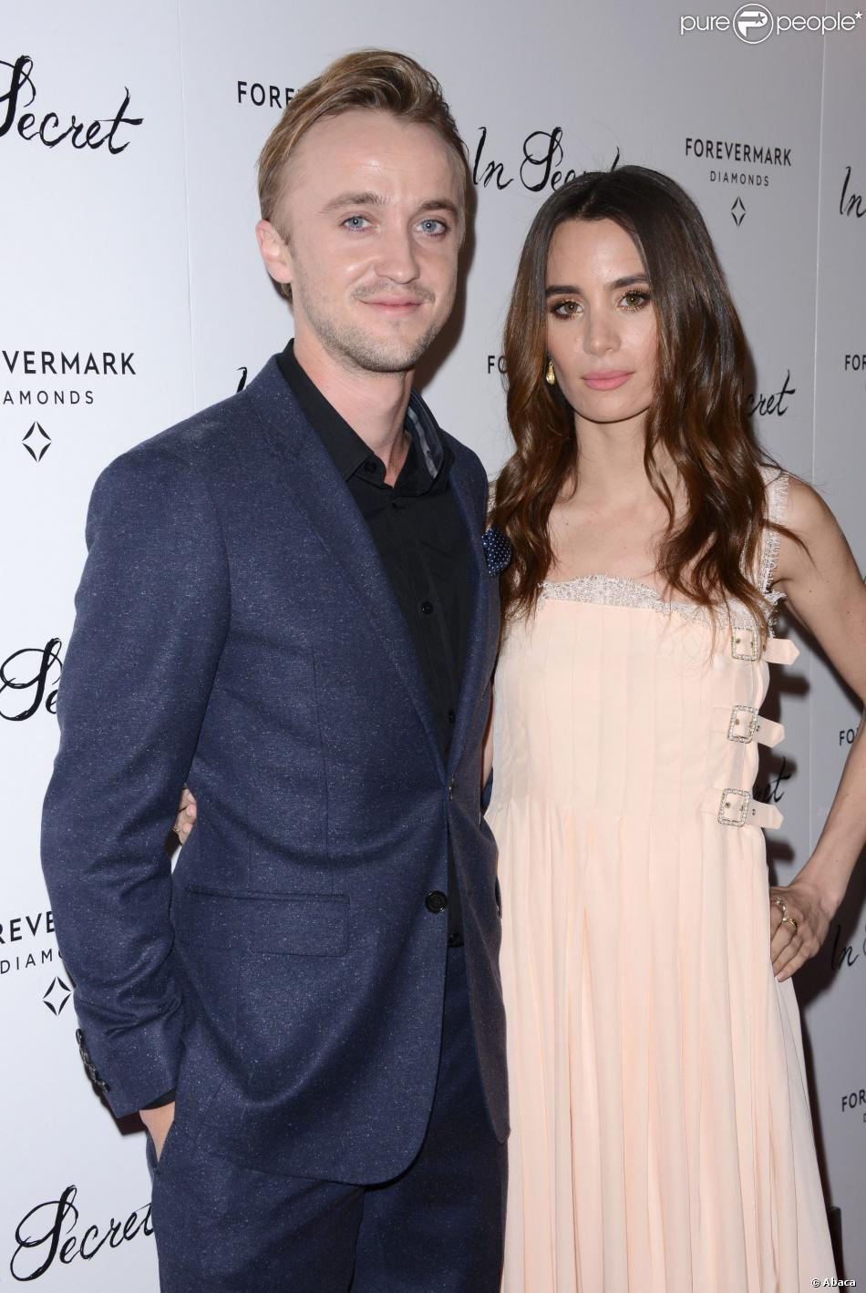 Tom Felton couple