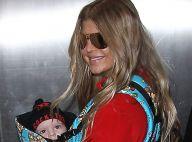 Fergie : Maman radieuse et stylée avec son craquant Axl Jack, déjà une rockstar