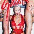 """Brooke Candy en une du magazine """"Galore"""" - février 2014"""