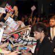 Louis Tomlinson des One Direction à la première du film 'This Is Us' au Japon, le 3 novembre 2013.