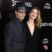 Johnny Depp et sa sublime fiancée Amber Heard : Fous d'amour sur tapis rouge