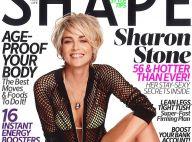 """Sharon Stone, ultra-hot : """"À 40 ans, je fondais en larmes devant la glace''"""
