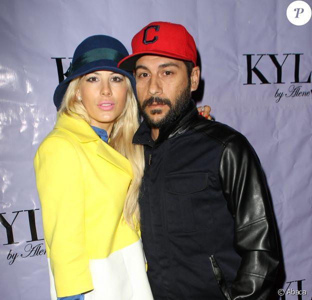 Shayne Lamas et son mari Nik Richie à Beverly Hills, le 20 août 2013