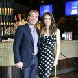 Elizabeth Hurley et Shane Warne à Melbourne, le 12 novembre 2013.