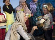 Angelina Jolie : A la rencontre d'enfants réfugiés syriens, avant les Oscars