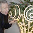 Jean Paul Gaultier lors de la 18e édition des Sapins de Noël des Créateurs à l'hôtel Salomon de Rothschild à Paris, le 3 décembre 2013.