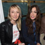 Fashion Week : Olivia Ruiz et Audrey Lamy, complices, et Elodie Frégé en cuir