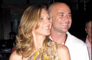 PHOTOS : Andre Agassi et Steffi Graf, un couple très câlin !