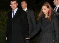 Manuel Valls et son épouse Anne Gravoin : Main dans la main au dîner du Crif