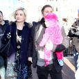 Holly Madison avec son époux Pasquale Rotella et leur fille au festival de Sundace, le 18 janiver 2014.
