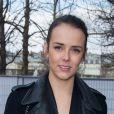 Pauline Ducruet (fille de la princesse Stéphanie de Monaco) à la Fahsion Week de Paris, le 4 mars 2014.