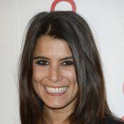 Karine Ferri sexy face à Marie-Ange Casalta enceinte au Sidaction