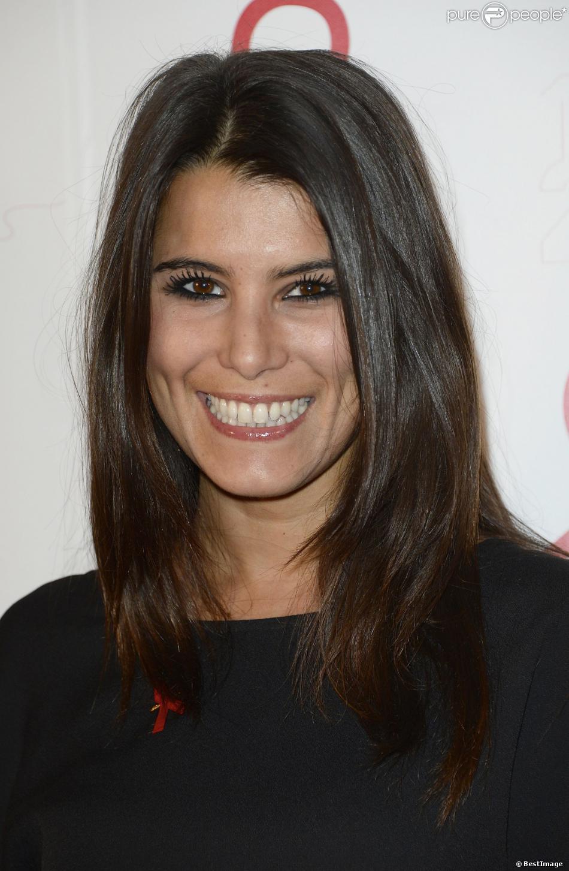 Karine Ferrilors de la soirée de lancement de la campagne 2014 du Sidaction au Musée du Quai Branly à Paris, le 10 mars 2014.