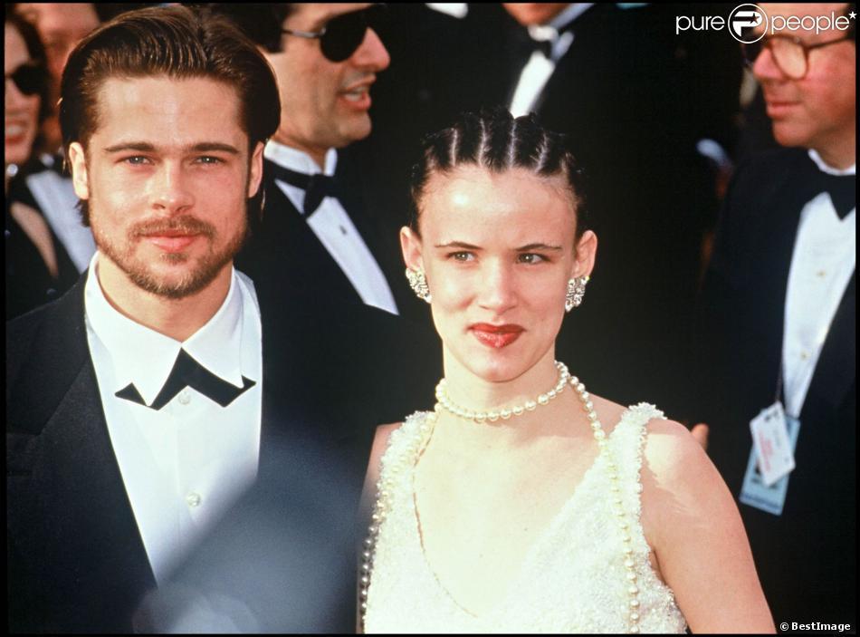 ... Lewis en 1993 lors de la première du film Brad the Mean Machine