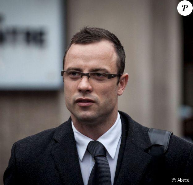 Oscar Pistorius lors de son procès pour meurtre devant la Haute cour de Pretoria, le 11 mars 2014