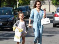 Jessica Alba : Lookée avec Honor, aussi jolie que sa maman !