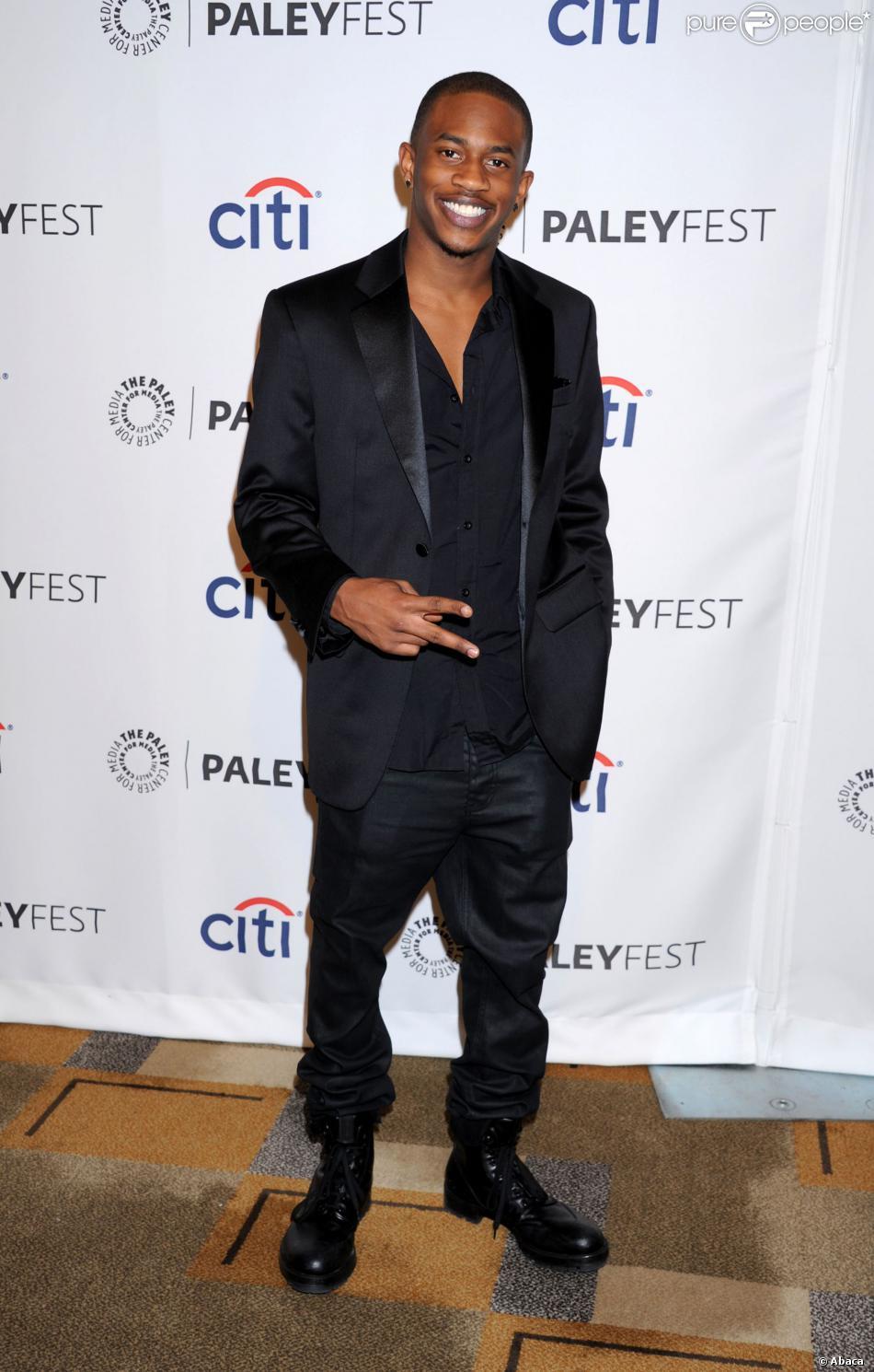 """Malcolm David Kelleyde """"Lost"""" à Los Angeles, le 16 mars 2014."""