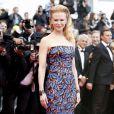 Nicole Kidman porte une robe L'Wren Scott (collection automne 2013) lors du 66e Festival de Cannes. Le 19 mai 2013.