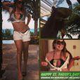 C'est en bikini que Mariah Carey a célébré la Saint-Patrick, le 17 mars 2014.