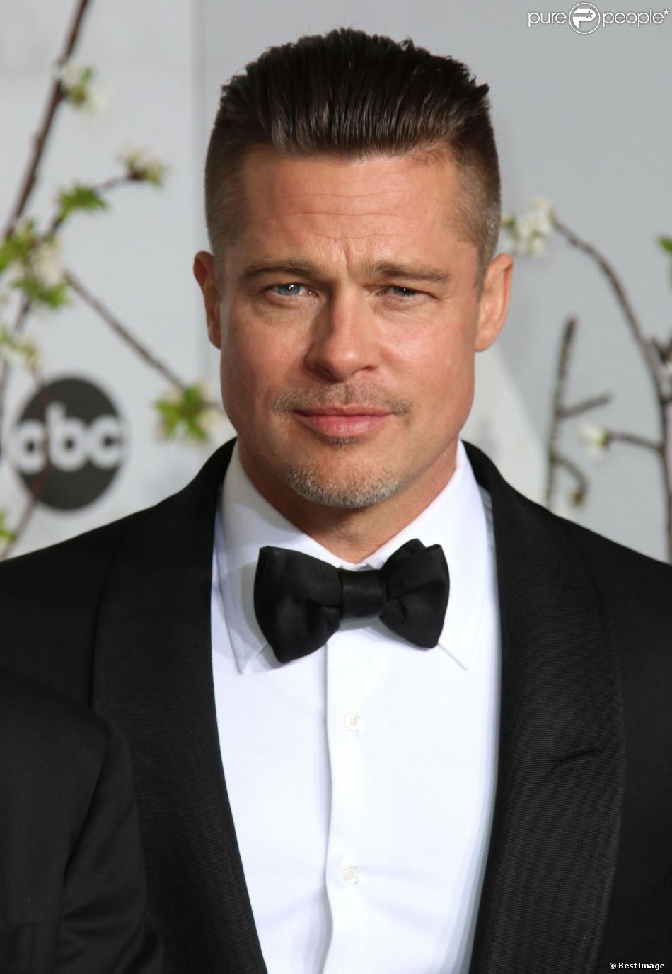 Brad Pitt (ici lors de la 86 cérémonie des Oscars à Hollywood, le 2 mars 2014) sera-t-il dans la saison 2 de True Detective ?