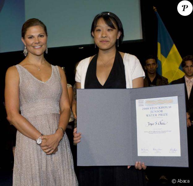 Victoria de Suède, marraine du concours international Stockholm Junior Water Prize