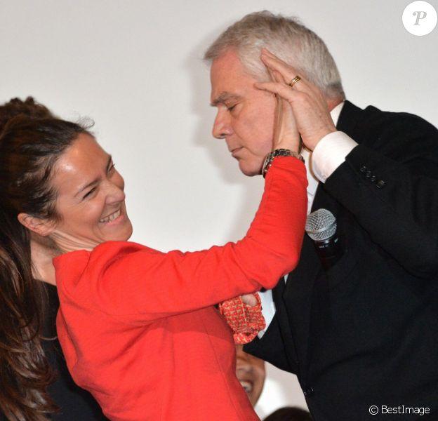 """Emmanuelle Boidron et Pierre Dulaine lors de l'avant-première de """"Dancing in Jaffa"""" au Festival 2 Valenciennes Cinéma 2014 à Valenciennes le 18 mars 2014"""