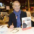 William Leymergie à la 34e édition du Salon du Livre à Paris, Porte de Versailles, le 22 mars 2014.