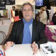 Jean-Louis Debré à la 34e édition du Salon du Livre à Paris, Porte de Versailles, le 22 mars 2014.