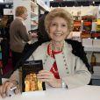 Héléne Carrère d'Encausse à la 34e édition du Salon du Livre à Paris, Porte de Versailles, le 22 mars 2014.