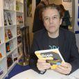Philippe Vandel à la 34e édition du Salon du Livre à Paris, Porte de Versailles, le 22 mars 2014.