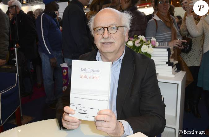 Erik orsenna la 34e dition du salon du livre paris for Salon porte de versailles 2014