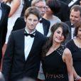 Romain Grosjean et Marion Jollès au Festival de Cannes, le 22 mai 2012