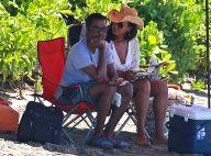 Chris Rock : En vacances avec femme et enfants, le comédien se la coule douce