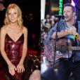 Gwyneth Paltrow à Berlin, le 1er février 2014. Chris Martin à New York le 21 octobre 2011. En 12 ans de vie commune, l'actrice et le chanteur n'ont jamais foulé aucun tapis rouge ensemble.