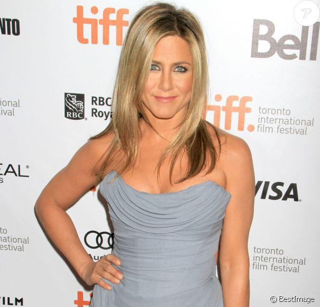 """Jennifer Aniston lors de l'avant-première du film """"Life Of Crime"""" à Toronto, le 15 septembre 2013."""