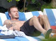 David Beckham : Torse nu sous le soleil avant le retour à la maison