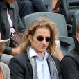 Gwendal Peizerat à Roland Garros. Juin 2012.