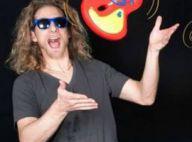Gwendal Peizerat : Le patineur surprend en papa rockeur, avec ''Baby Rock''