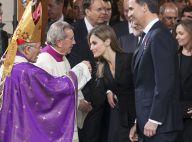 Letizia et Felipe d'Espagne : Emotion aux obsèques d'Etat d'Adolfo Suarez