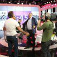 """Exclusif - Gérard Louvin - Première de l'émission """"Touche pas à mon poste"""" sur la chaine D8 à Paris. Le 2 septembre 2013."""