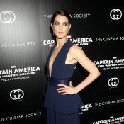 Cobie Smulders affiche un décolleté plongeant pour Captain America