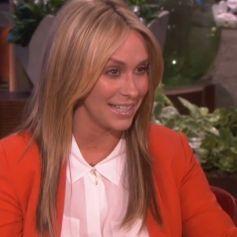 Jennifer Love Hewitt a dévoilé sa nouvelle couleur de cheveux sur le plateau d'Ellen DeGeneres, le 31 mars 2014.