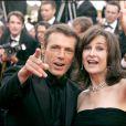 Lambert Wilson et Valérie Lemercier lors du Festival de Cannes le 21 mai 2005