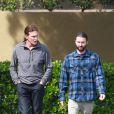 Bruce et son fils Brandon Jenner à Los Angeles, le 23 mars 2014.
