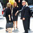 Exclu - Lorraine Bracco se rend au restaurant après les obsèques de James Gandolfini afin de lui rendre hommage, à New York, le 27 juin 2013.