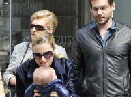 Michelle Hunziker : Avec ses filles et son fiancé pour un après-midi shopping