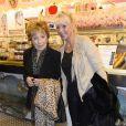 La comédienne Marthe Mercadier, sur le point d'être expulsée de son appartement de Neuilly-sur-Seine pour loyers impayés, vient de recevoir une généreuse proposition des forains de la Foire du Trône qui lui mettent à disposition une caravane au coeur du bois de Vincennes le 4 avril 2014.